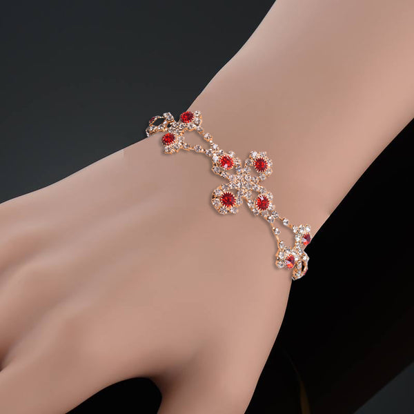 Ladies Stylish Italian Hand Bracelets-BE432