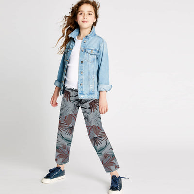 brandsego - Next Straight Fit Cotton Trouser For Kids-SK0353