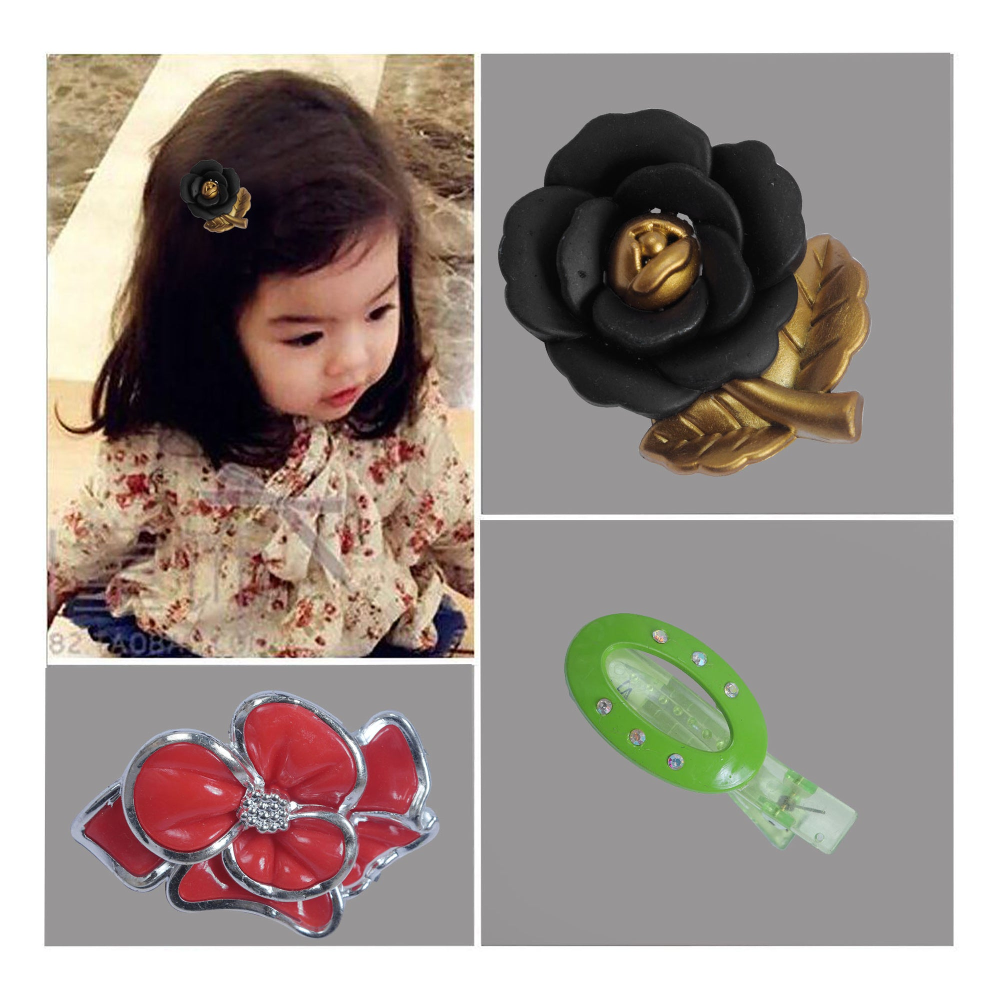 Hair Clip For Girls-SK0416
