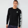 brandsego - Air Walk Single Jersey Long Sleeve Tee Shirt For Men-NA8236