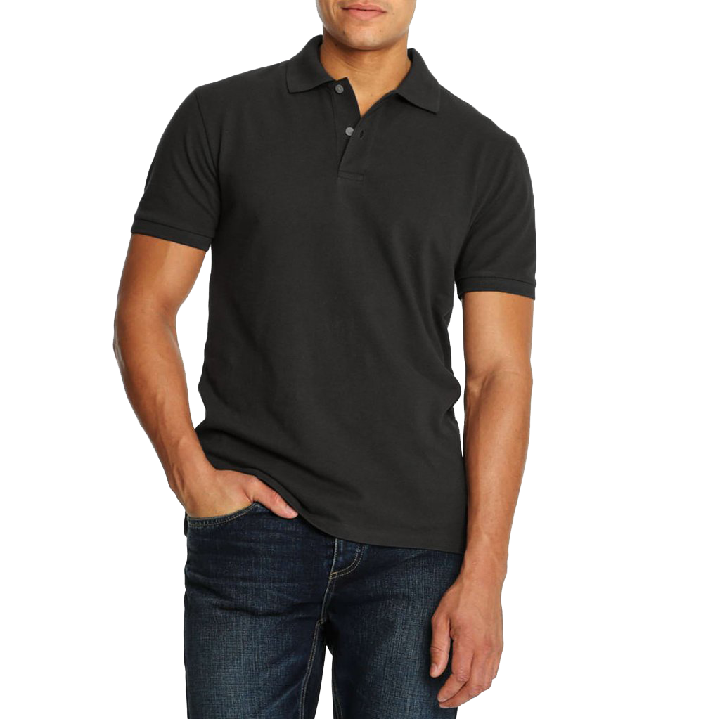 "Men's ""Joe Fresh"" Short Sleeve Polo Charcoal-P09"