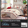Pasha Collection Platinum Galaxy King Size Bed Sheet-NA10576