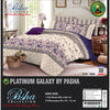 Pasha Collection Platinum Galaxy King Size Bed Sheet-NA10579
