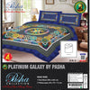 Pasha Collection Platinum Galaxy King Size Bed Sheet-NA10580