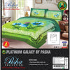 Pasha Collection Platinum Galaxy King Size Bed Sheet-NA10581