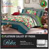 Pasha Collection Platinum Galaxy King Size Bed Sheet-NA10582
