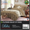 Pasha Collection Platinum Galaxy King Size Bed Sheet-NA10583