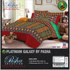 Pasha Collection Platinum Galaxy King Size Bed Sheet-NA10584