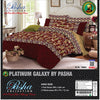 Pasha Collection Platinum Galaxy King Size Bed Sheet-NA10585