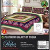 Pasha Collection Platinum Galaxy King Size Bed Sheet-NA10587