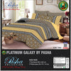 Pasha Collection Platinum Galaxy King Size Bed Sheet-NA10588