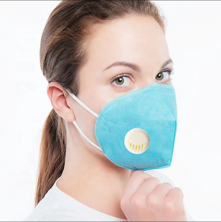 KN95 Self-Priming Filter Anti-Particulate Respirator Disposable Mask For Women-Assorted-NA11500
