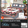 Pasha Collection Platinum Galaxy King Size Bed Sheet-NA10572