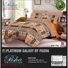 Pasha Collection Platinum Galaxy King Size Bed Sheet-NA10574