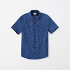 Zara Man Premium Slim Fit Casual Shirt For Boys-Blue Chek-NA9636