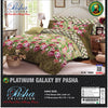 Pasha Collection Platinum Galaxy King Size Bed Sheet-NA10575