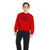 BARAKSHA Crew Neck Full Sleeve Sweat Shirt For Kids-Red-NA6351