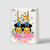 Stylish Cartoon Printed Gift Bag-NA11367