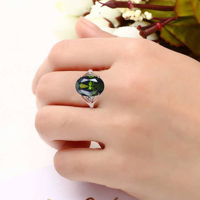 Shining Stone Golden Color Ring-JW156