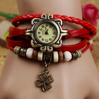 Women's Casual Vintage Bracelet Wrist Watch-NA10695