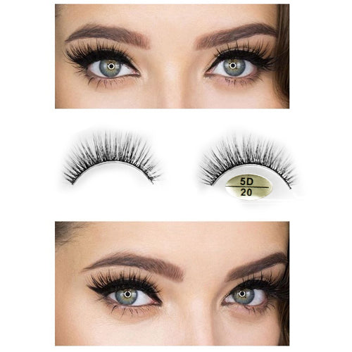Fit Me 5D Mink Hair Black Eyelashes-NA12282