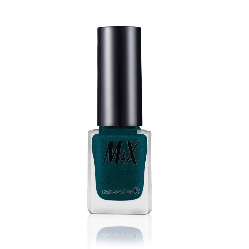 M&X Impression Nail Glaze For Ladies-Persian Blue-SP2443