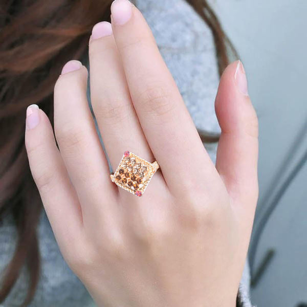 "Ladie's ""Stylish Ring""-BE370"