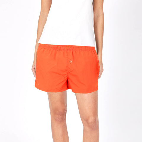 NEXT Cotton Short For Ladies-Orange-BE982