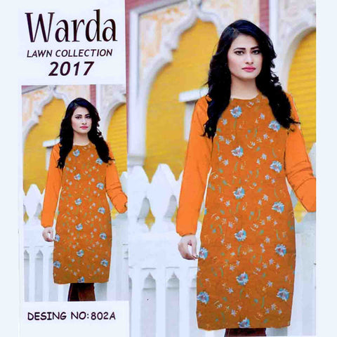 Warda Lawn Collection Unstitched 3 Piece Ladies Suit-ULS52