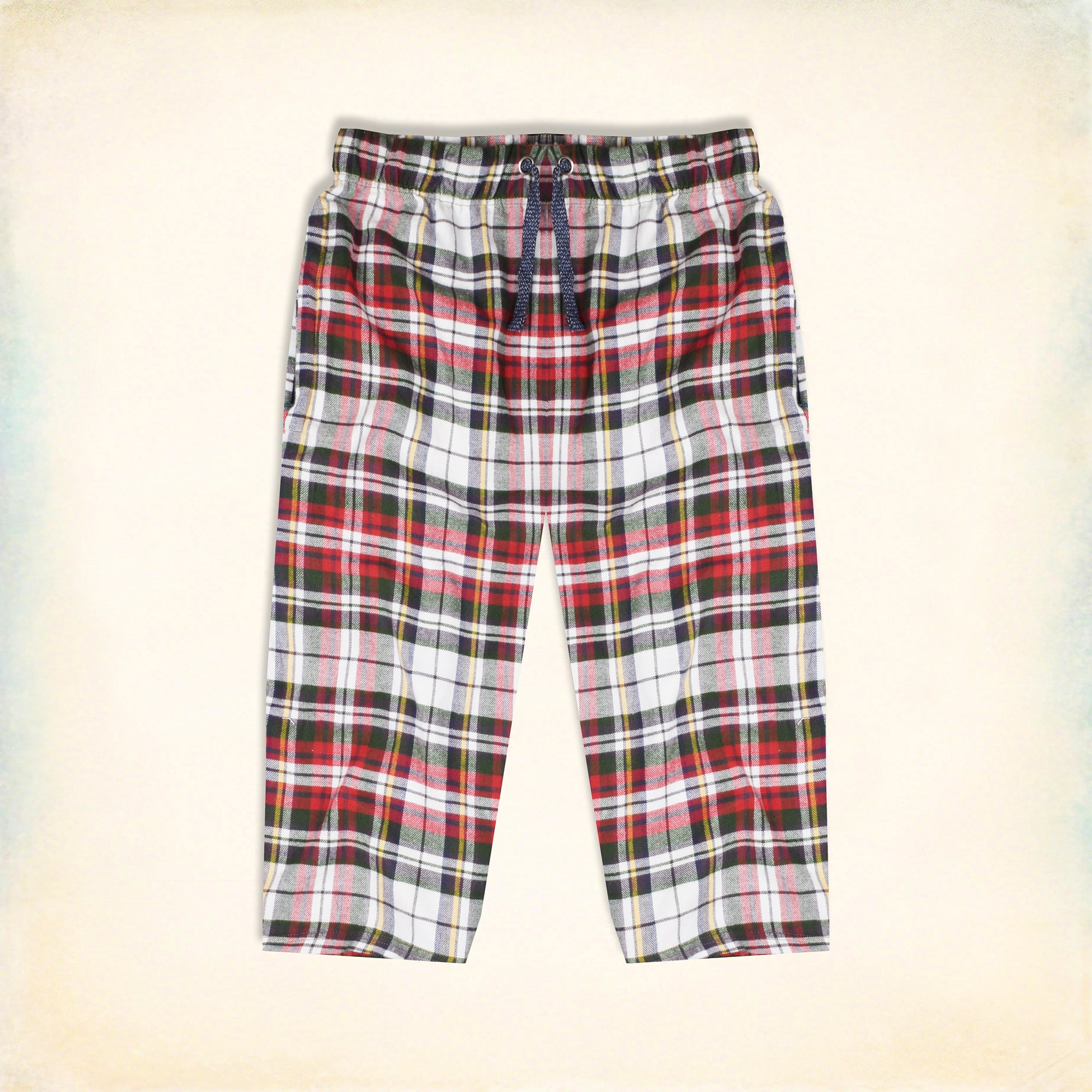 Bershka Cotton Short For Men-Multi Check-NA5277
