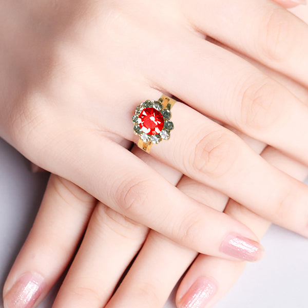 "Ladie's ""Stylish Ring""-BE361"