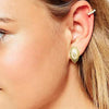 Latest Silver Pearl Earring For Women-JW069