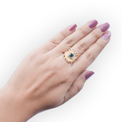 Multi Color Stone Rings-Assorted-JW147