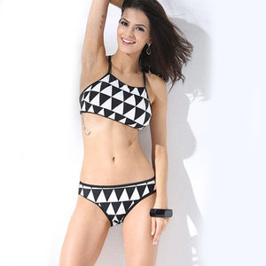 2 Piece Swimsuit Set For Ladies-NA5563