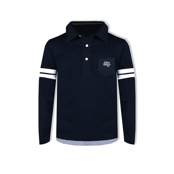"Kid's Cut Label ""NEXT"" Stylish Rugby Polo shirt KSP01"