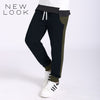 New Look Single Jersey Jogger Trouser For Kids-Dark Navy & Olive Green-NA1207