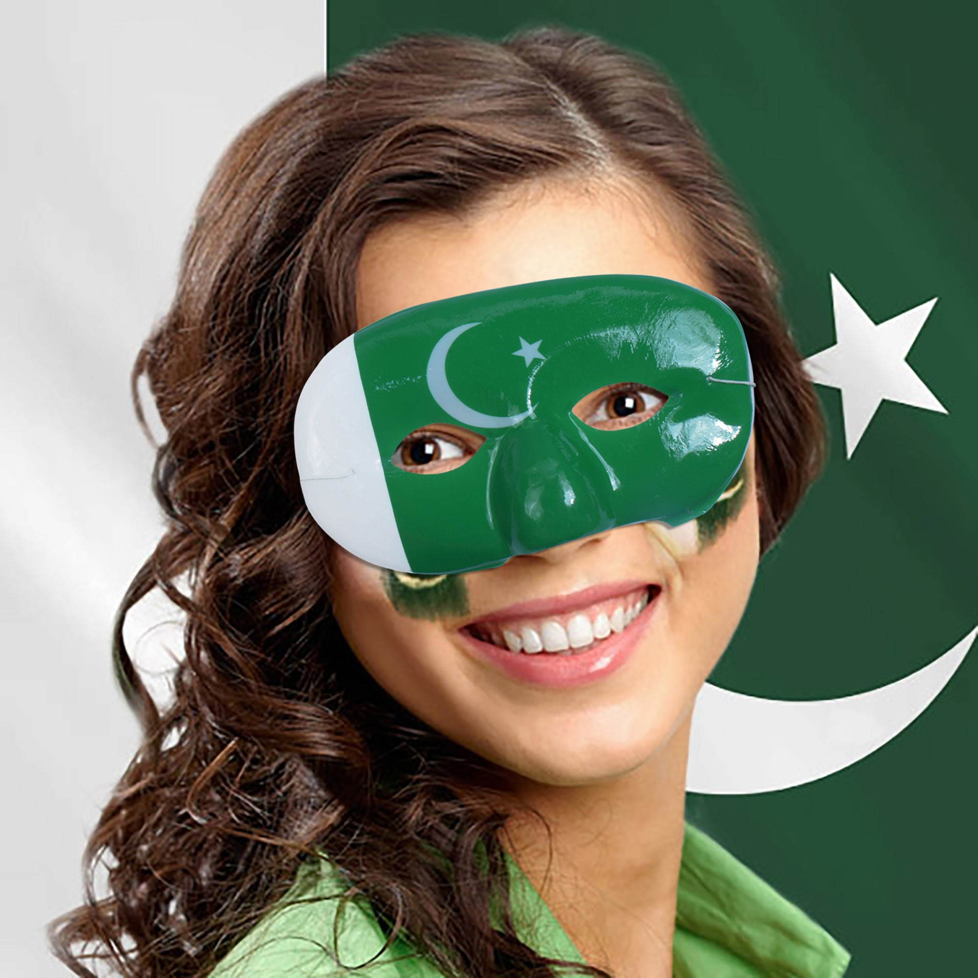 brandsego - Pakistani flag face mask-SK0438