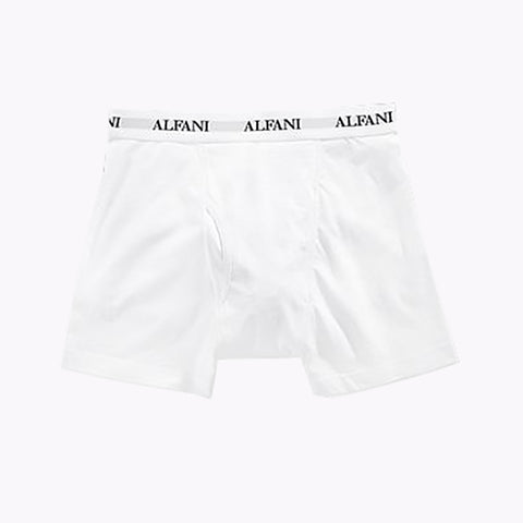 Alfani Boxer Short for Men-White-BE847