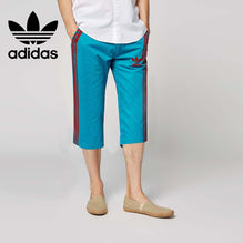 Adidas Cotton Short For Men-Blue-BE2637