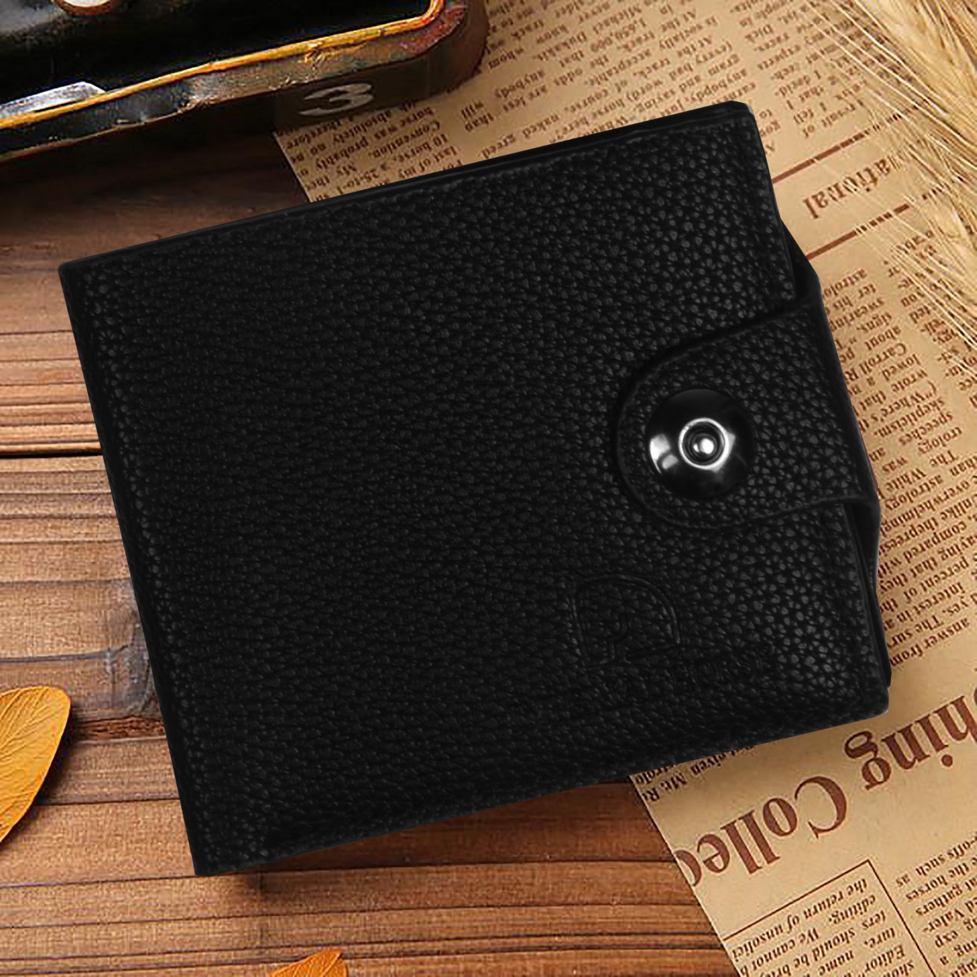 Leather Wallets For Men-NA5364