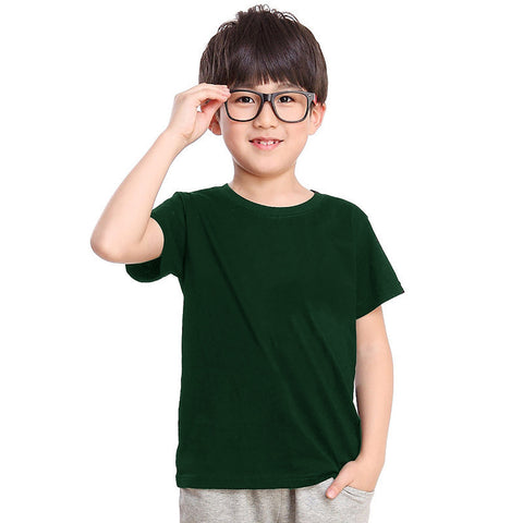 Next Crew Neck T Shirt For Kid Cut Label-Green-BE2297