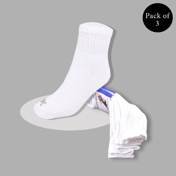 "Pack Of 3 Unisex ""Top Man"" Sock's- So06"