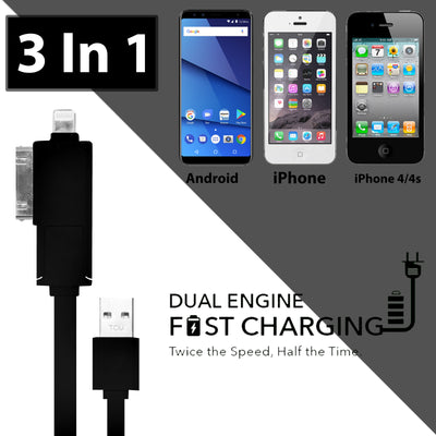3 In 1 Charging Cable-NA8047
