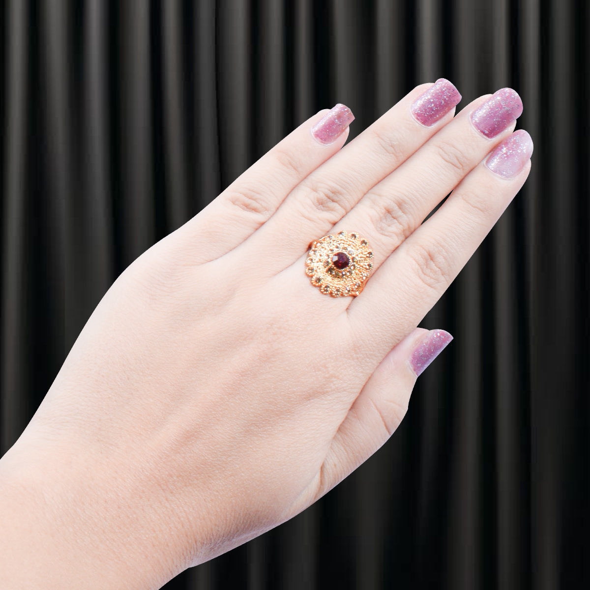 Exclusive Golden Color Ring-JW145