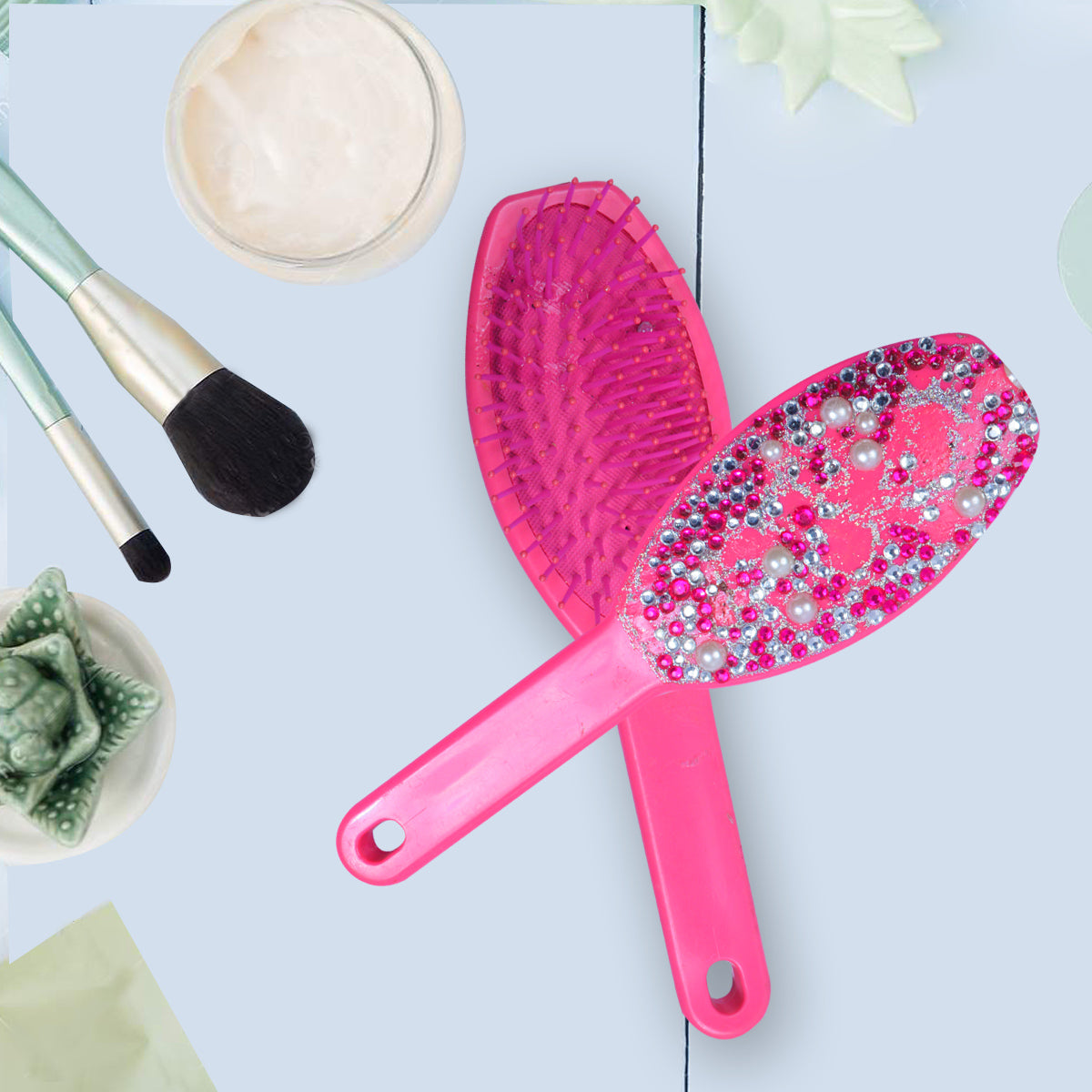 Brand New Paddle Hair Brush-JW100