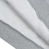 NK Fleece Grey Melange with Navy Embroidery Pullover Hoodie For Men-Grey Melange-BE10264