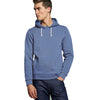 F&F Pullover Terry Fleece Hoodie For Men-Cornflower Blue-BE3767