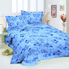 Oker's Island 100% Cotton Printed Double Bed Sheet & Pillow Set-NA6117