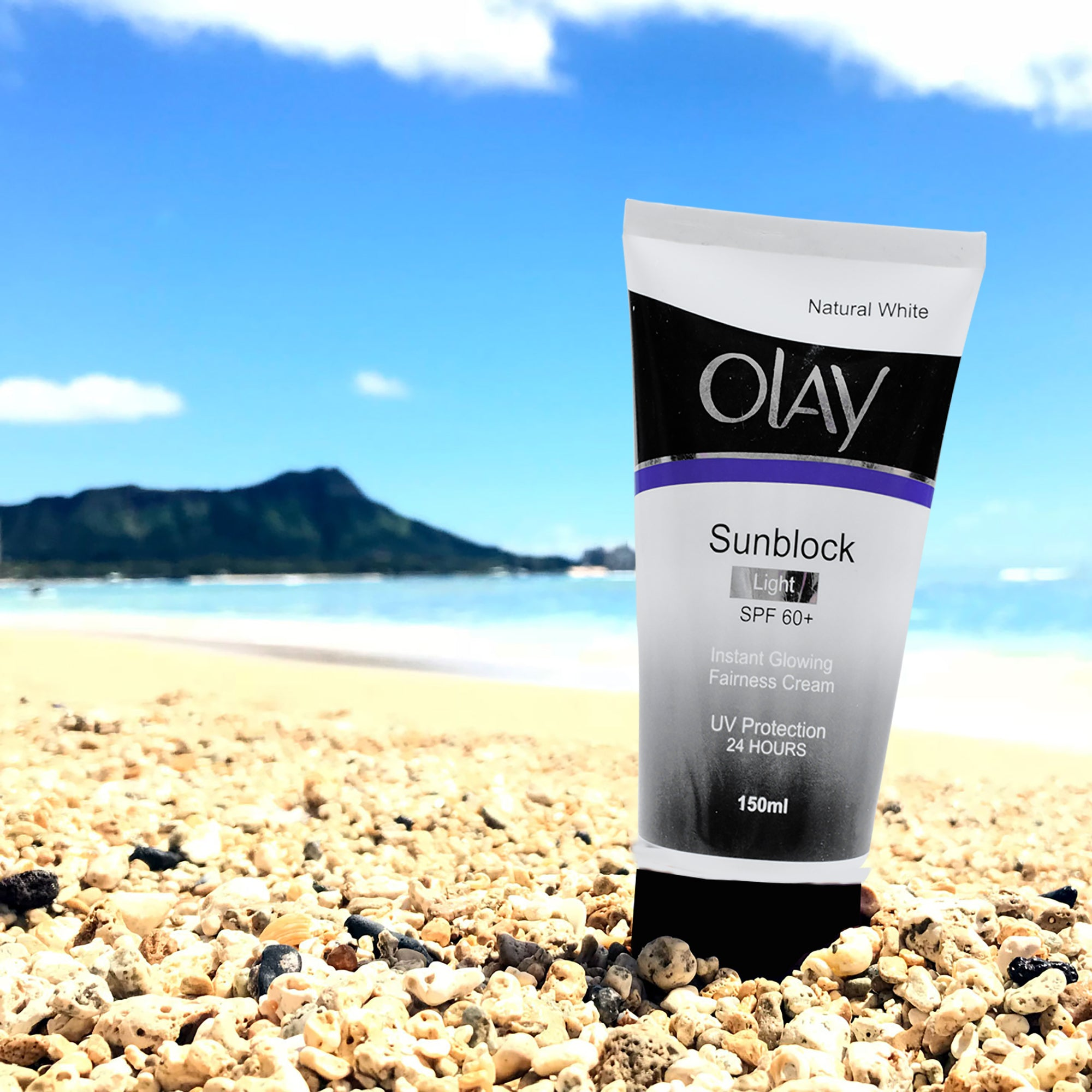 OLAY Natural White Sunblock SPF 60-SK0343