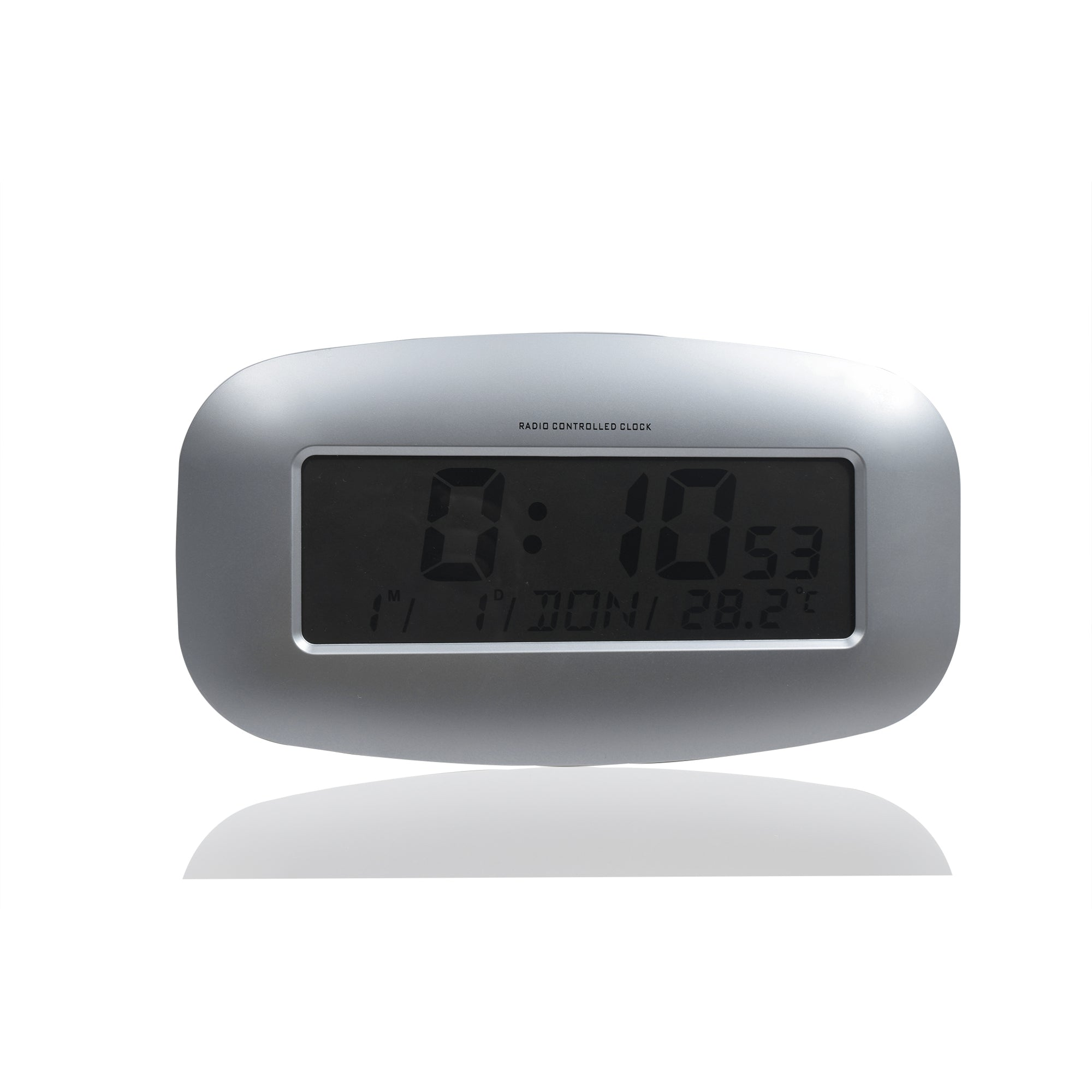 Radio Controlled Clock With Thermometer-SK0245